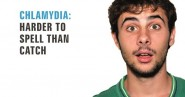 Chlamydia campaign poster