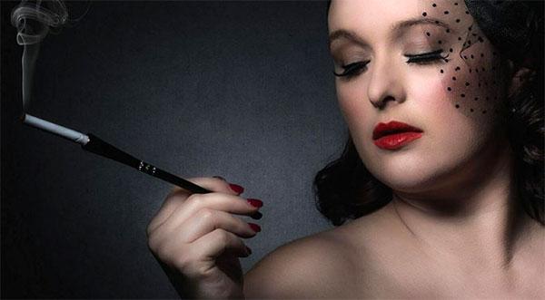 Gigi Martini will be battling for Burlesque on Sat 23 September Photo © Simon Newbury
