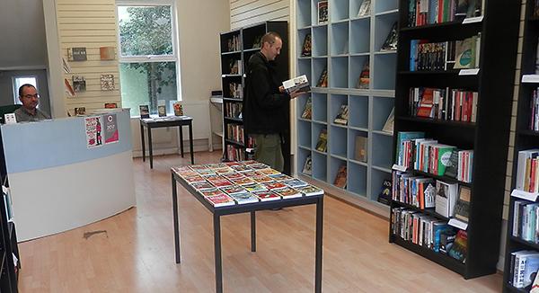 Printed Matter bookshop, Hastings, Queens Road
