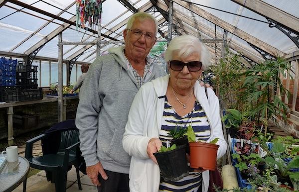More happy gardeners