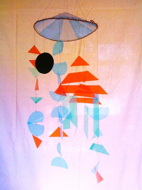 Kinetic artwork Susan Cleland