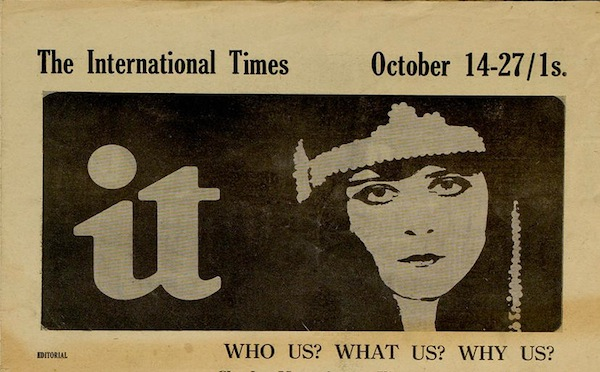 From old issue of International Times
