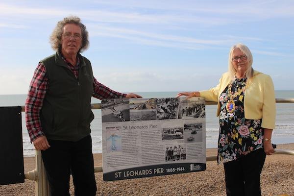 St Leonards Pier Plaque Unveiling