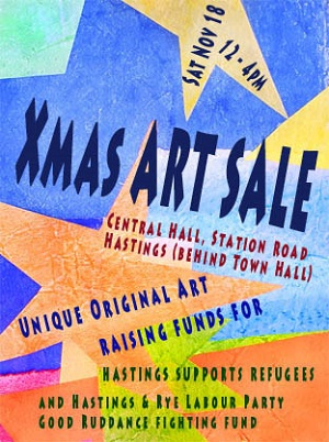 Art sale poster resized