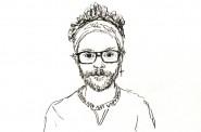 Thom Kofoed, self portrait
