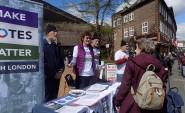 Make Votes Matter street stall in London (photo: MVM).