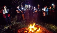 A song round the campfire with Sound Waves.