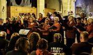 Sound Waves Community Choir perform at last year's Seaview carol concert.