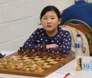Rising star: seven-year-old Munkhdemberel Pagamdulam of Mongolia,