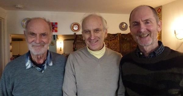 Harry Underhill, Jorge Labbe Herrera, Adrian Underhill