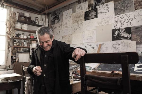 Gus Cummins in his studio ©lensandpixel