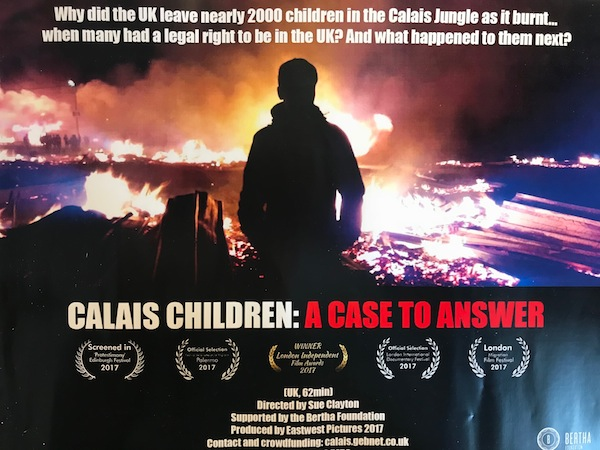 Calais Children poster