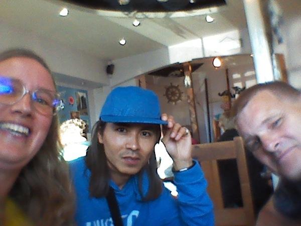 Terry, Javad and Stuart
