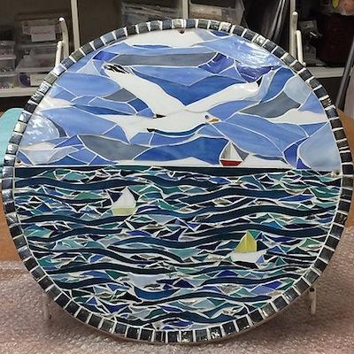 One of Emma Law's beautiful mosaics