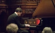 Anton Lyakovsky playing last weekend at the second Phoenix Paino Series recital. He gave three encores to the enthusiastic audience (photo: .