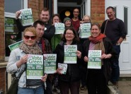 Green Party canvassing 2018
