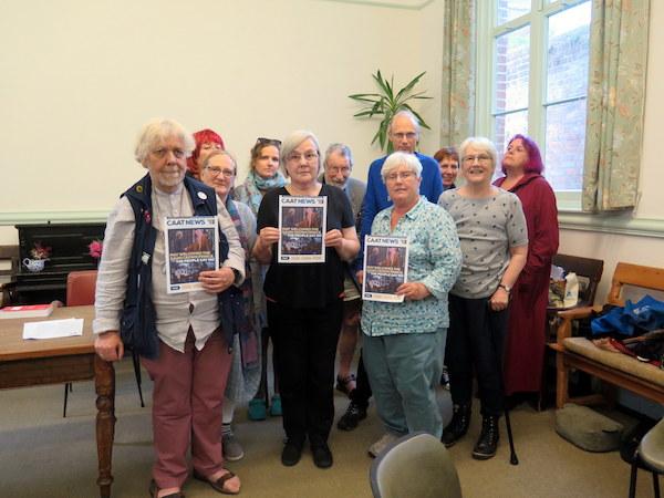 Hastings Against War members