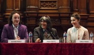 Oliver Poole, left, Polo Piatti and Carla Paoli present the new World Series of concerts.