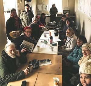 Weekly public meetings are held onsite by the Bud team.