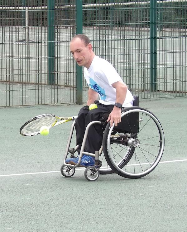 Adam Field, tennis coach and international wheelchair tennis player
