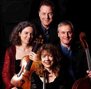 Battle Festival's resident ensemble, the Primrose Piano Quartet.