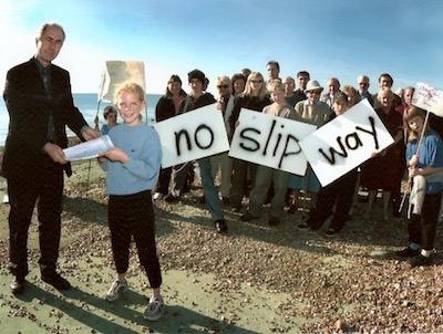 No Slip Way campaign
