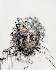 Maggi Hambling Self-portrait oil on canvas 2017