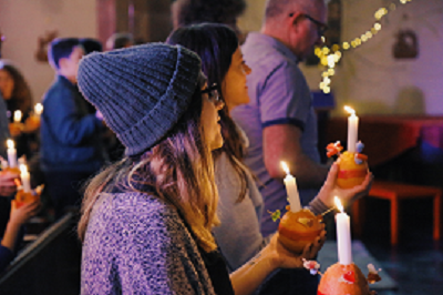 Last years Christingle Service