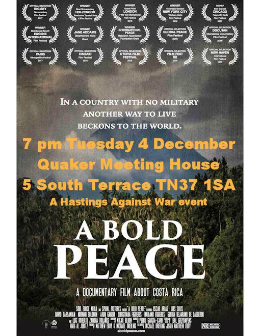 The film, A Bold Peace