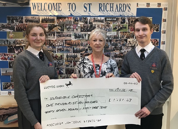 St Richard's Catholic College is one of many educational institutions which support Surviving Christmas.
