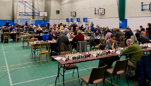 All eyes on the board as the 95th Hastings International Chess Congress gets under way.