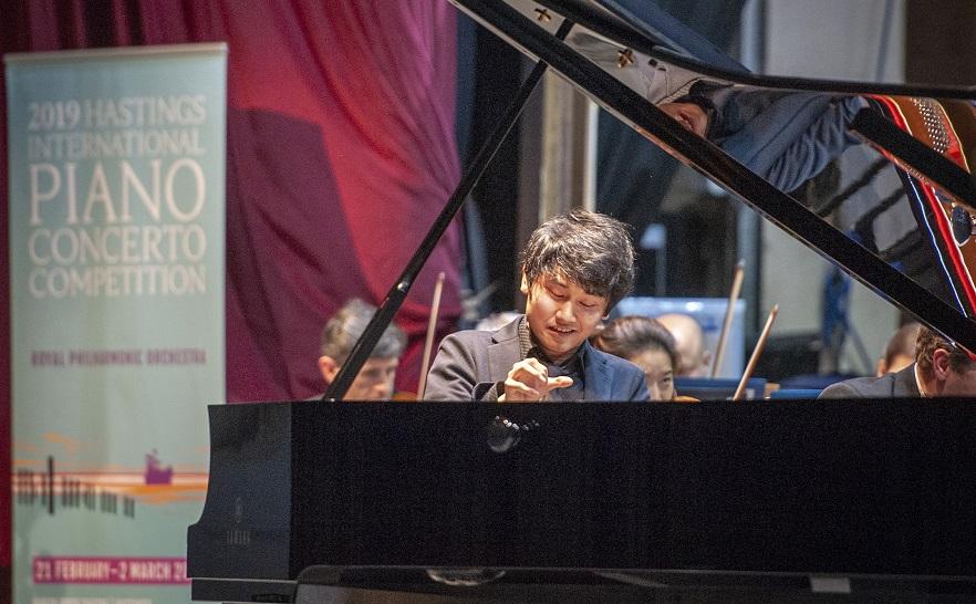 Fumiya Koido Winner of the 2019 Hastings International Piano Concerto Competition