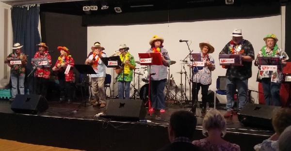 White Rock Ukelele Orchestra.