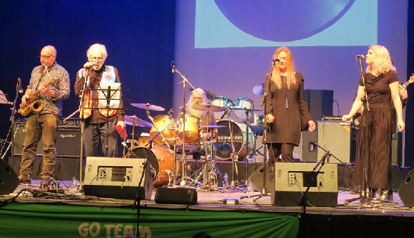 Pete Brown Band at last year's Beatles Day (photo: Andrew Clifton).