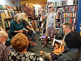 Pete Donohue hosting Sheer Poetry