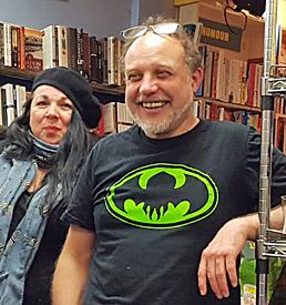 Tim Barton and Susan Evans