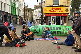 Extinction Rebellion in Hastings