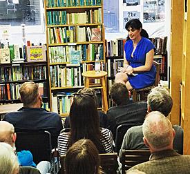 Rachel Neuburger-Reynolds at The Bookkeeper Bookshop
