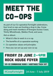 Meet local co-operative members during Co-op Fortnight