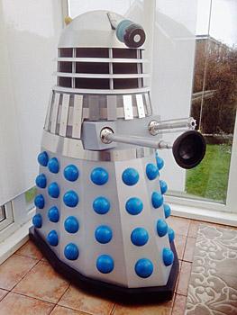 Dalek coming to St Leonards