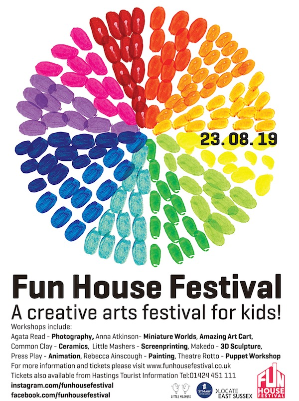 Fun House Festival Poster 2019