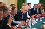 New PM Boris Johnson chairing his first Cabinet meeting in July. Labour council leaders are now asking him to restore council funding (photo: Wikimedia Commons, licensed under the Open Governent Licence v3.0).