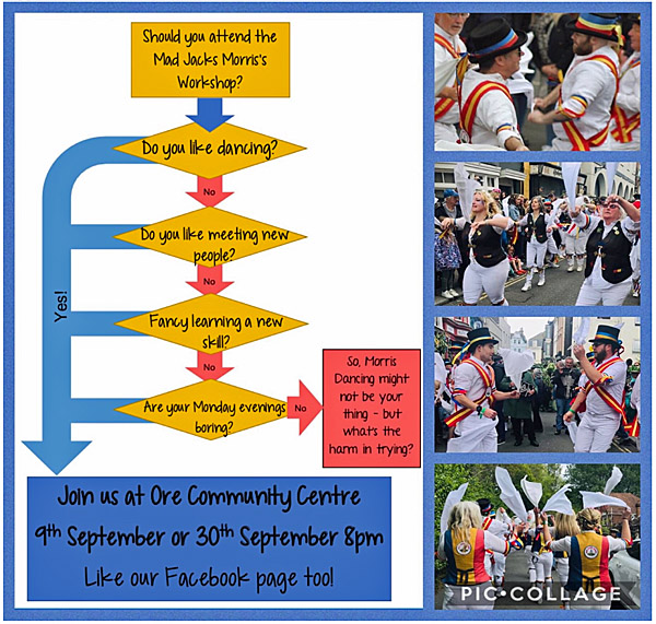 Mad Jack's Morris dance workshop