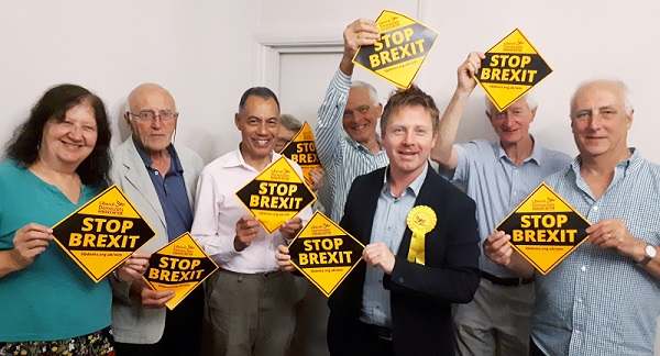 Nick Perry and LibDem colleagues are ready to start campaigning.
