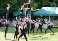 Acromax gymnasts group performing at last year's event.