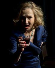 Christine St. John as Bette Davis © Alain Landes