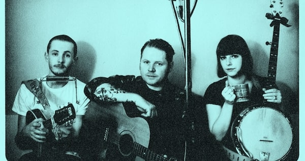 Trevor Moss, Danny Wilson and Hannah Lou