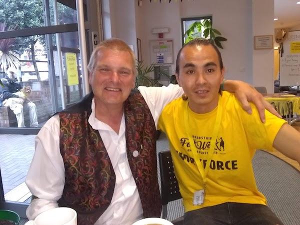 Stuart and Javad