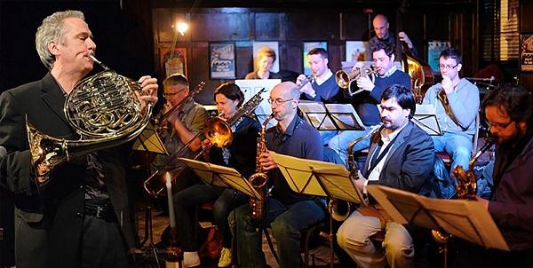 Pavillon, led by french horn player Jim Rattigan (photo: Pavillon).