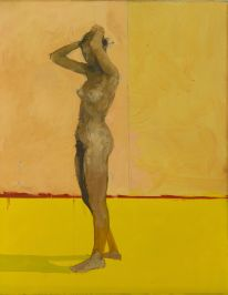 Victor.Willing.Standing.Nude.1955.oil.on.canvas..The.Artist's.Estate.Arts.Council.Collection.Southbank.Centre.London